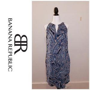 Banana republic aqua dress 👗